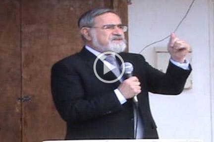 Chief Rabbi Lord Sacks – Stone laying ceremony for the Tfahot Bet Midrash