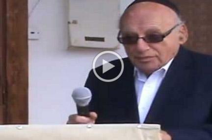 Mr. Kurt Rothschild speech – Stone laying ceremony for Tfahot Bet Midrash Copy Copy